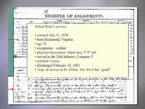 Genealogy Introduction—Military Research at the National Archives: Regular Service