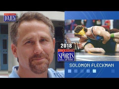 Solomon Fleckman: 2018 Space Coast Sports Hall of Fame