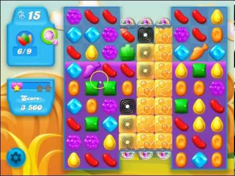 Candy Crush Soda Saga Level 154 No Boosters