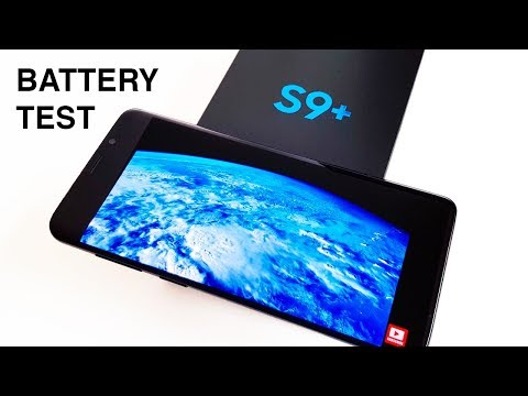 S9+ Battery Test | Phone Review | giffgaff