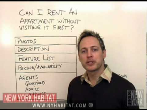New York Habitat Video Tip : Can I rent an apartment without seeing it first?