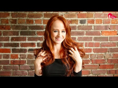How to Get Beautiful No-Heat Redhead Curls Overnight + Perfect Curls with Straightener