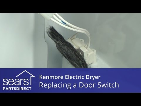 How to Replace a Kenmore Electric Dryer Door Switch
