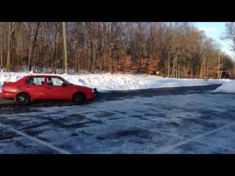 Drifting VW Jetta