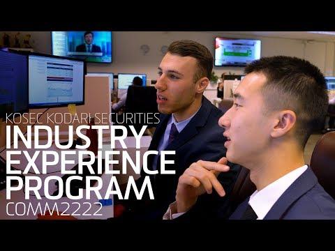 Industry Experience Program - KOSEC Kodari Securities (COMM2222)