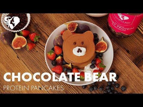 Protein Pancake Choco Bear  | Women's Best Protein Recipes