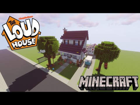 Minecraft: The Loud House Tour