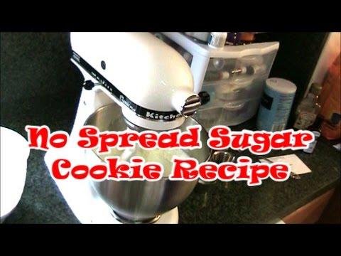 No Spread Sugar Cookie Recipe