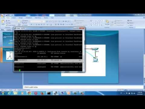 Configure cisco router hostname and ip address