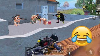 Trolling Cute Noobs 😜🤣   PUBG MOBILE FUNNY MOMENTS