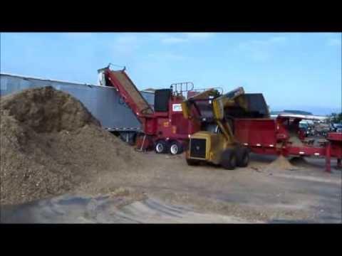 Grinding Wood for Boiler Fuel