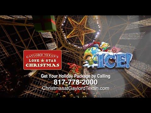Lone Star Christmas and ICE! 2015 at Gaylord Texan Resort