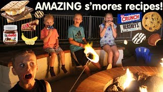 Download DELICIOUS Gourmet S'mores with TONS of Candy! Video