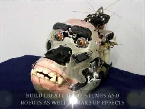 ANIMATRONIC GORILLA  TECH WORKS FX AND LEARN FX ANIMATRONICS AND MAKE UP EFFECTS SCHOOL