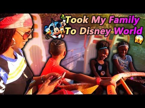 Took My Family To Disney World