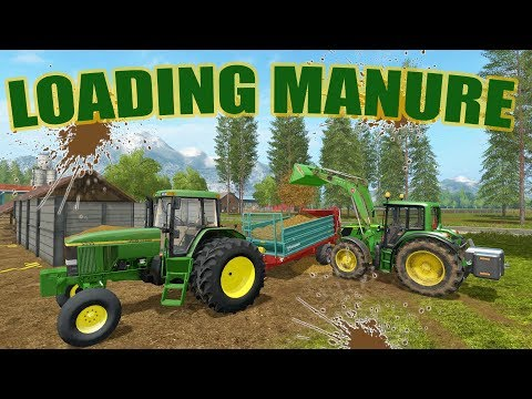 FARMING SIMULATOR 2017 | WE BOUGHT A MANURE SPREADER + SELLING SOYBEANS | MULTIPLAYER | EP #17