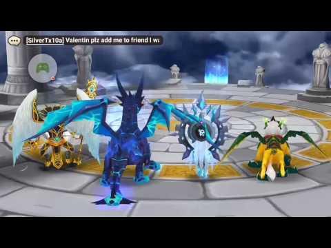 Random Arena fight: Wedjat, the light horus - Summoners War