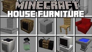 Minecraft FURNITURE HOUSE MOD / FRIENDLY ZOMBIE HOUSE!! Minecraft -  getplaypk