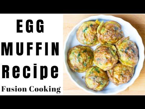 Egg Muffin No Oven | Breakfast | Kids LunchBox| Meal Plan Breakfast Recipe