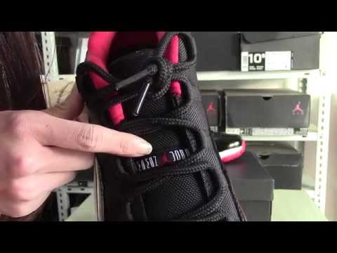 "Authentic Air Jordan 11 Low ""Bred"" new review from sneakerhead"