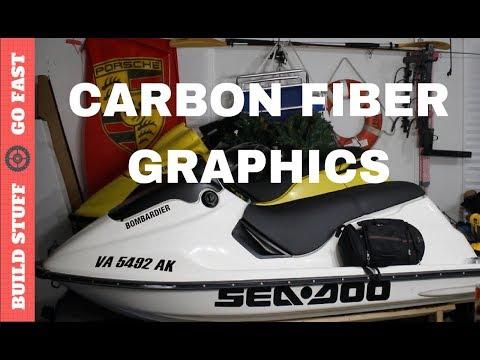 Easy Carbon Fiber Upgrade for SeaDoo Jet Skis