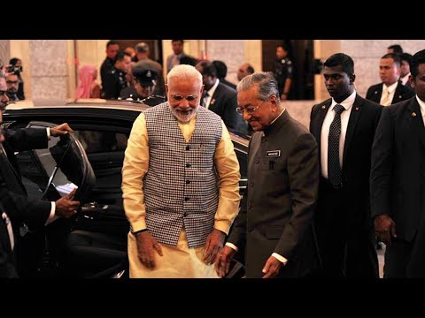 PM India lawat Dr M