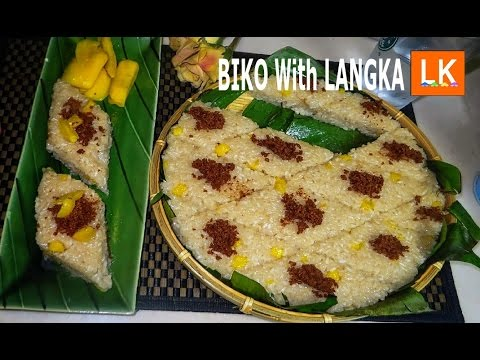 Biko with Langka (Sticky Rice Cake)