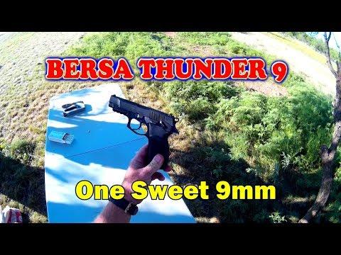 Review: Bersa Thunder 9 semi auto pistol .  One sweet 9mm!