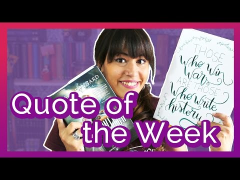 Quote of the Week: Truthwitch | All About That Book |