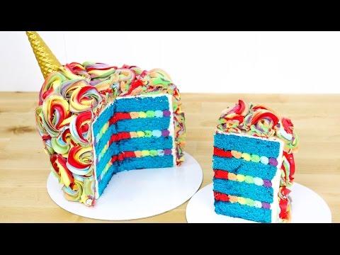 UNICORN  Buttercream Cake - How To by CakesStepbyStep