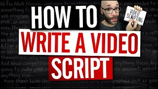 How To Write A Video Script For Youtube