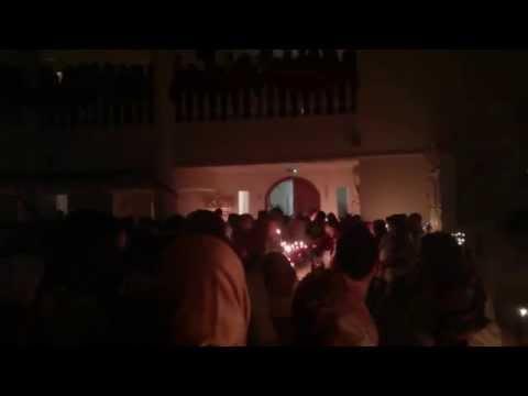 Short Excerpt of Pascha Procession 2014 at St Philip Orthodox Parish (Пасхальное)