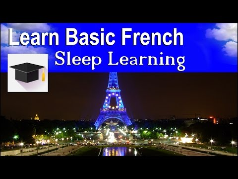 Sleep Learning ★ Spoken French ★ Learn French With The Power Of Binaural Beats.