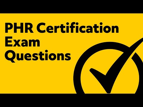 PHR Certification Exam Questions