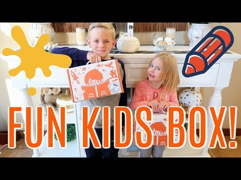 FUN ACTIVITY BOX FOR KIDS!!