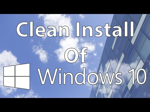 How to Do a Clean Install of Windows 10 on a Lenovo Y700 Laptop