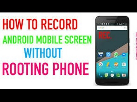 How to record Home Screen #100℅ working