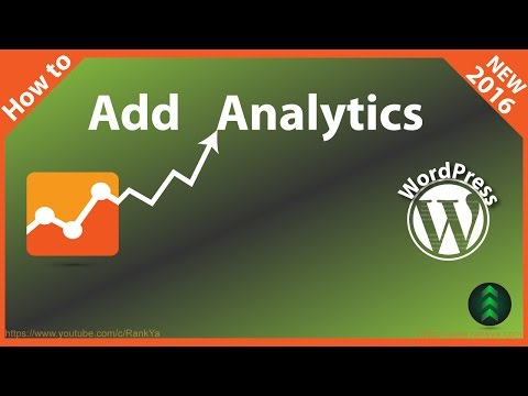 How To Add Google Analytics Tracking in WordPress