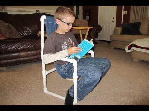 How to make a Kids Chair with PVC - Kids Lawn Chair