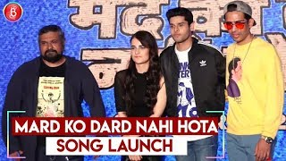 Rappan Rappi Rap - Mard Ko Dard Nahi Hota | Radhika Madan & Abhimanyu Dassani | Song Launch