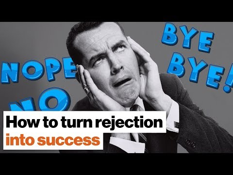 """The upside of rejection: How hearing """"no"""" can lead to success 