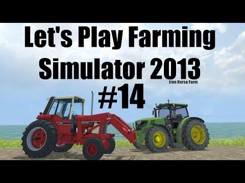 Farming Simulator 2013 Iron Horse E14 baling