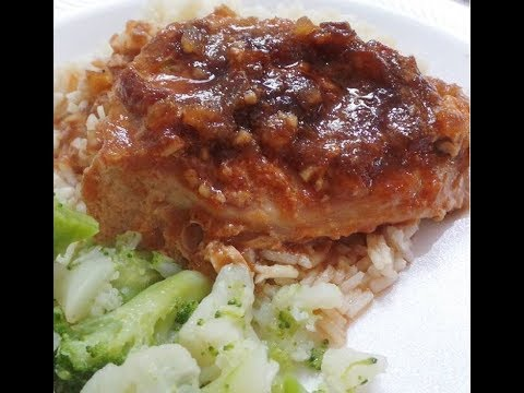 Saucy Chinese Pork Chops