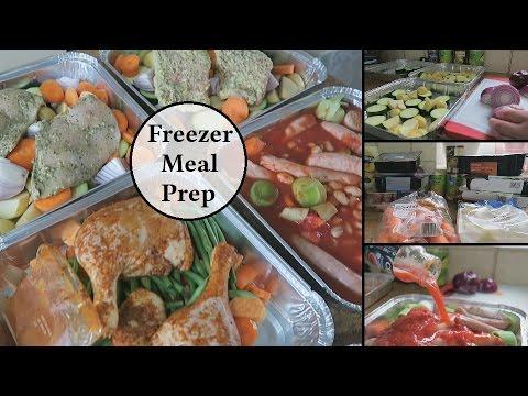 Freezer Meal Prep & Grocery Haul