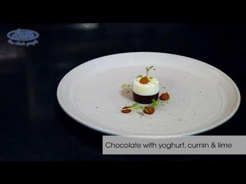 2-Michelin star chef John Freeman creates beef tartar scallop and chocolate and cumin