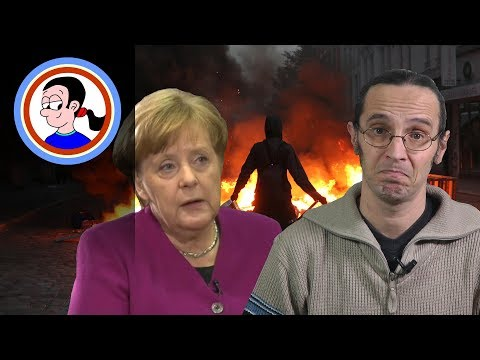 Did Merkel admit to no-go areas in Germany?