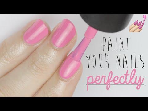 Cómo pintarse las uñas ¡perfectas!