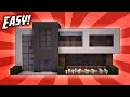 Minecraft: How To Build A Small Modern House Tutorial (#13)