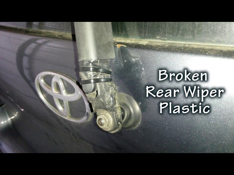 Yaris Rear Wiper Arm Fix for under $6 and less than 5 MINUTES!!!