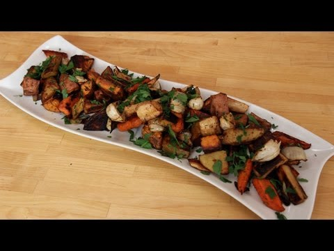 Roasted Winter Root Vegetables - Recipe by Laura Vitale - Laura in the Kitchen Ep 250